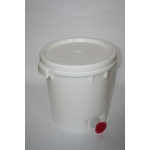 Transp.container with cover&valve-40kg