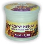 BIONE-Face cream with Royal Jelly,Honey+Q10  51ml